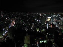 マンションからの夜景