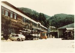 1973年操業時のオーエム機器川上工場