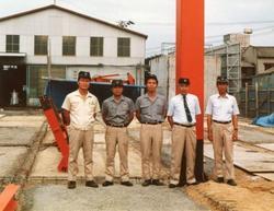 1986年オーエム産業第二工場着工