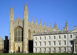 オックスフォードに次ぐ古い大学ケンブリッジ大学.jpg