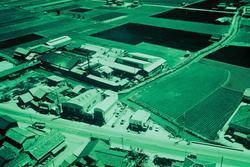 昭和35年(1960年) 野田工場の航空写真