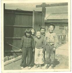 大供工場時代(小学3年生)、岡本家の子どもたちと