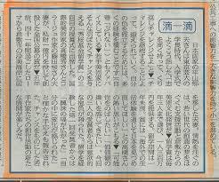 2009年3月14日の山陽新聞